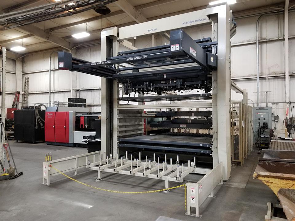 ML3015eX laser sheet loader