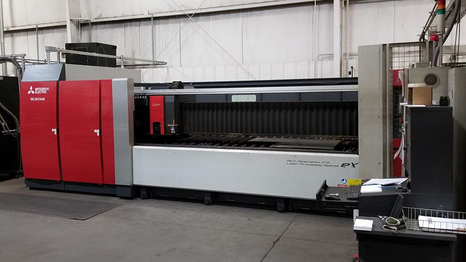 Mitsibishi ML3015eX laser cutter