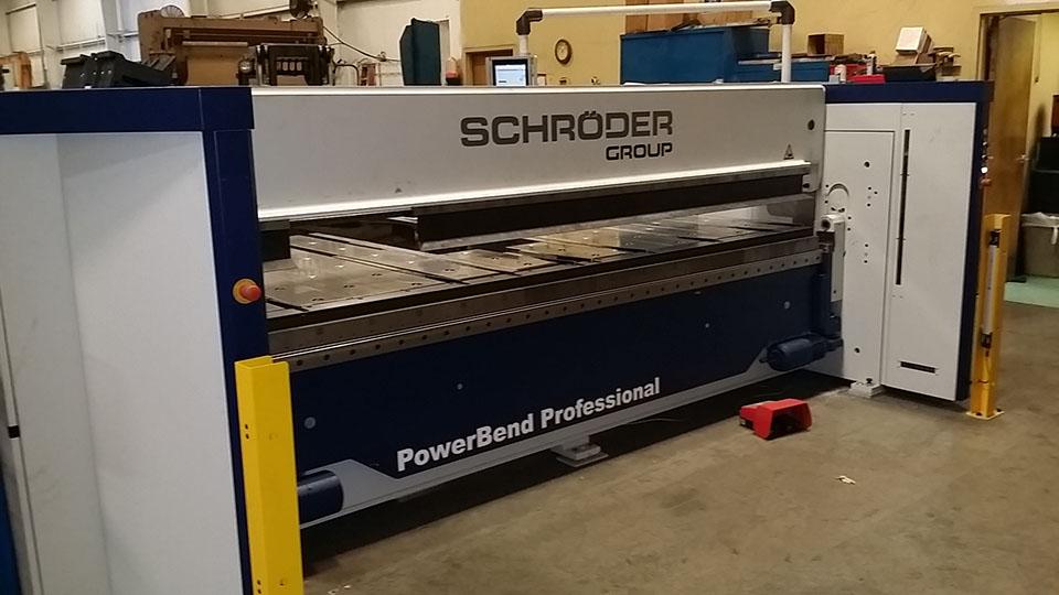 Schroder Up Down Metal Folding Machine