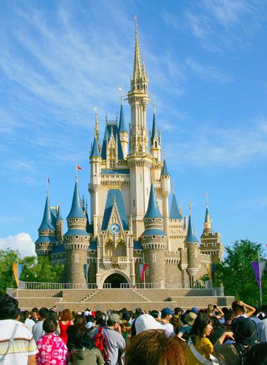 Disney World Sleeping Beauty Castle